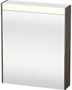 Duravit Brioso LED-Spiegelschrank BR7101L5151 620x760mm, Pine Terra, Tür links