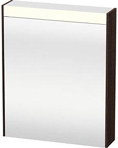 Duravit Brioso LED-Spiegelschrank BR7101L5353 620x760mm, Kastanie Dunkel, Tür links