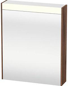 Duravit Brioso LED-Spiegelschrank BR7101L7979 620x760mm, Nussbaum Natur, Tür links