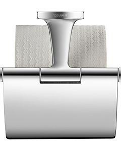 Duravit Starck T Papierrollenhalter 0099401000 chrom, mit Deckel