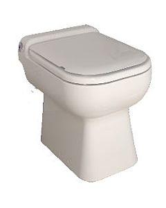 SFA Stand-WC SaniCompact Luxe 0004 weiss, mit Anschlussmöglichkeit für Waschtisch