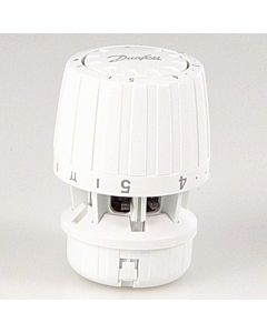 Danfoss Thermostatkopf RA 2990 013G2990 Spannring weiss