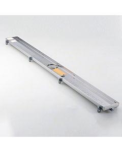 TECE Fliesenmulde 600870 TECEdrainline plate 80 cm, Edelstahl poliert, für Rinne