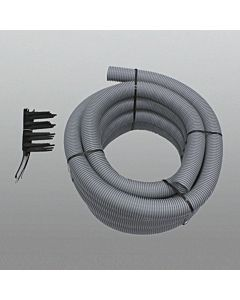 Vaillant Abgasleitung Ø 80 PP 303514 Set 5, 15 m flexibles Rohr, 7 Abstandhalter