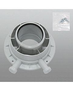 Vaillant Geräteanschlussstück Ø 80/125 PP 303926 konzentrisch an Abgasleitung