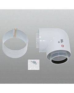 Vaillant Bogen 87 Grad Ø 80/125 mm 303210  konzentrisch