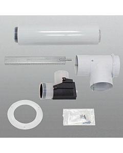 Vaillant Basis Anschluss Set 80/125 mm 303250 konzentrisch, an Abgasleitung Ø 80 PP im Schacht