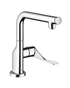Axor Citterio Select Küchenarmatur 39860800 edelstahl-optik, schwenkbarer Auslauf