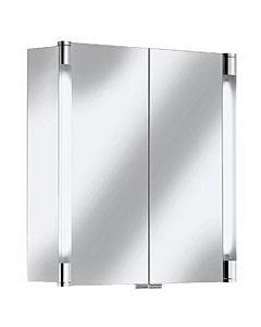 Keuco Royal T2 Spiegelschrank 13801171301 70 x 70 x 16,6 cm, silber-eloxiert