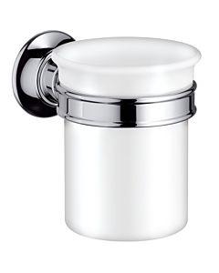 hansgrohe Zahnbecher Axor Montreux 42134820 Keramik, Halter Metall, brushed nickel