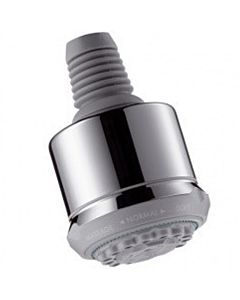 hansgrohe Kopfbrause Clubmaster 3jet 28496000 chrom, mit QuickClean