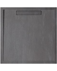 Villeroy & Boch douche Squaro UDQ1010SQR1V1S 100x100x1.8cm Quaryl, anthracite, couvercle, support
