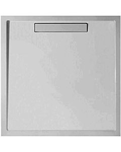 Villeroy & Boch Squaro shower UDQ1010SQR1V3S 100x100x1.8cm, Quaryl, gray, cover & bracket