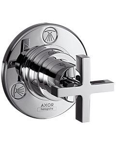 Axor Citterio Absperr- und Umstellventil 39925000 Unterputz, mit Kreuzgriff, chrom