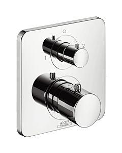 hansgrohe Fertigmontageset Axor Citterio M 3472500 Unterputz-Thermostat mit Ab- /Umstellventil, chrom