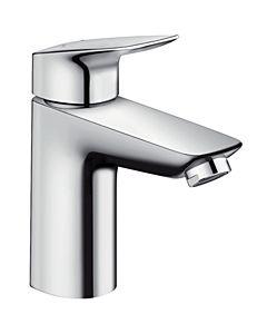 hansgrohe Logis 100 Waschtisch Armatur 71101000 chrom, Höhe 187 mm, ohne Ablaufgarnitur