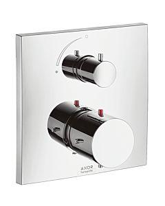 hansgrohe Fertigmontageset Axor Starck X 10706000 Unterputz, Thermostatbatterie mit Absperrventil