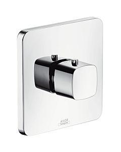 hansgrohe Fertigmontageset Axor Urquiola Unterputz, Thermostatbatterie Highflow, chrom