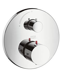 hansgrohe Axor Starck Thermostat Armatur 10700000 Unterputz Armatur, mit Absperrventil, chrom