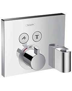hansgrohe ShowerSelect Fertigmontageset 15765000 UP Thermostat, 2 Verbraucher, chrom
