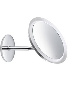 Keuco mirror Bella Vista 17605019000 wall model, beleuchtet , m. Power supply, chrome-plated