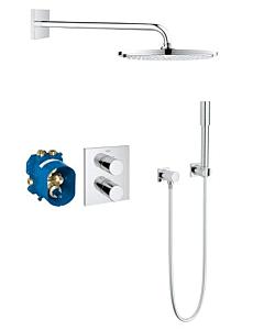 Grohe Grohtherm 3000 Duschsystem 34627000 Unterputz-Thermostat, Rainshower Cosmopolitan 310