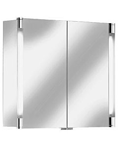 Keuco Spiegelschrank Royal T2 13802171301 90 x 70 x 16,6 cm, silber-eloxiert