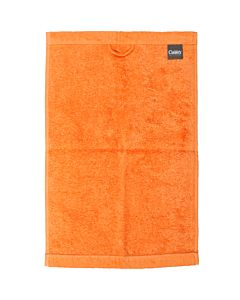 Cawö Gästetuch Lifestyle 7007 Uni  30 x 50 cm, mandarine 316