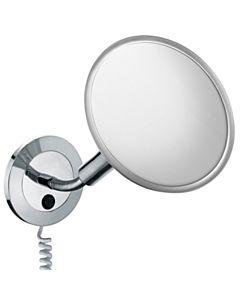 Keuco Kosmetikspiegel Elegance 17676019001 20,7 cm, beleuchtet, mit Zusatzstecker