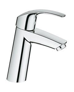 Grohe Waschtisch Armatur Eurosmart 2339510E SilkMove ES, chrom, ohne Ablaufgarnitur