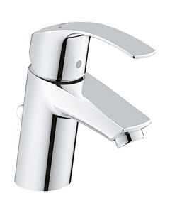 Grohe Eurosmart Waschtischarmatur 23456002  chrom, S-Size, mit Hybrid Ablaufgarnitur