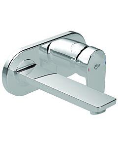 Ideal Standard Tesi mur mitigeur lavabo A6578AA chromé, ferrure mitigeur lavabo