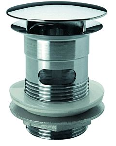 ASW Design Schaftventil 107527 verchromt, mit Überlauf, mit Haube