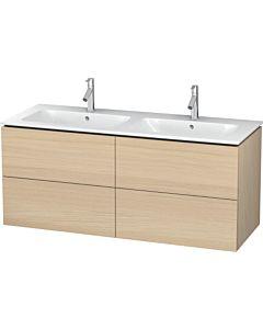 Duravit L-Cube Waschtischunterbau LC625907171 Mediterrane Eiche, 129x55x48,1cm, 4 Schubladen