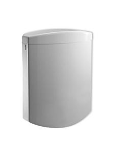 Sanit Bonito Duo Spülkasten 91A04010099 weiß, mit Eckventil, 2-Mengen-Betätigung