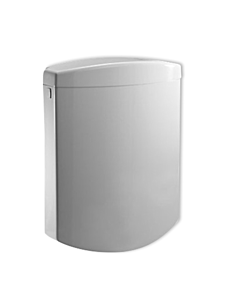 Sanit Bonito Duo cistern 91A04010099 white, with angle valve, 2-volume-operation