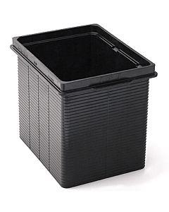 Kessel Verlängerungsstück 38670 Kunststoff, H = 183 mm schwarz