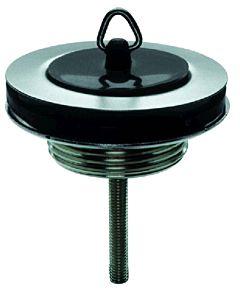 "ASW Universal Stopfenventil 11/4"" 100016 Messing vernickelt, Schraube 80mm"