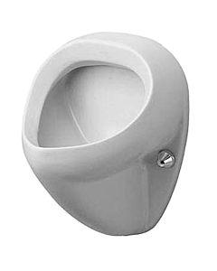 Duravit Urinal Bill 08513500071 Zulauf von hinten, mit Fliege, weiss, wondergliss