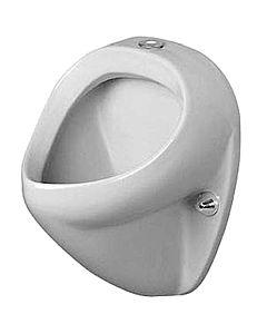 Duravit Urinal Jim 08503500071 Zulauf von oben, mit Fliege, weiss, wondergliss