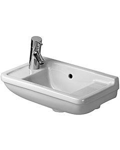 Duravit Starck 3 Handwaschbecken 0751500000 50 x 26 cm, weiss, Hahnloch Vorstich