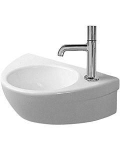 Duravit Starck 2 Handwaschbecken 07613800001 38 x 26 cm, weiss, wondergliss