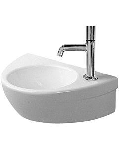 Duravit Starck 2 Handwaschbecken 07613800081 ohne Überlauf, Hahnloch rechts, weiss, wondergliss