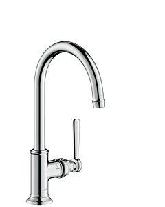 hansgrohe Axor Montreux Waschtischarmatur 16518000 ohne Zugstange, chrom, Ausladung 210 mm