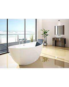 Hoesch Namur Badewanne freistehend 4400.010 170x75cm, weiß