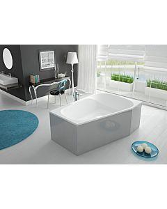 Hoesch Spectra Badewanne 3667.010 180 x 120 cm, weiß, rechte Ausführung