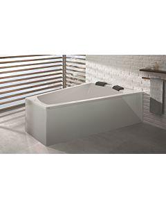 Hoesch Largo Badewanne 3706.010 180x140 cm, weiss, Ausführung rechts