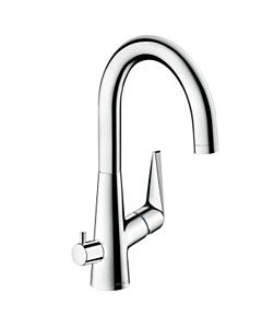 hansgrohe Talis S 220 kitchen mixer 72811000 chrome, with appliance hansgrohe Talis S