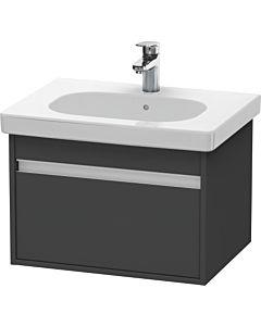 Duravit Ketho Waschtischunterschrank KT667004949 60 x 41 x 45,5 cm, Graphit Matt, für D-Code 034265