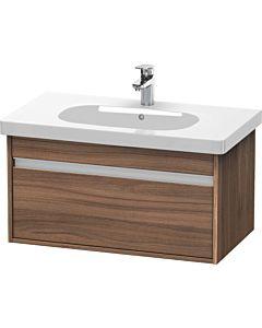 Duravit Ketho Waschtischunterschrank KT666707979 80x41x45,5 cm, Nussbaum natur, für D-Code 034285